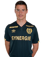 Alexandre Olliero during photocall of Fc Nantes for new season of Ligue 1 on September 14th 2016<br /> Photo : Fcna / Icon Sport