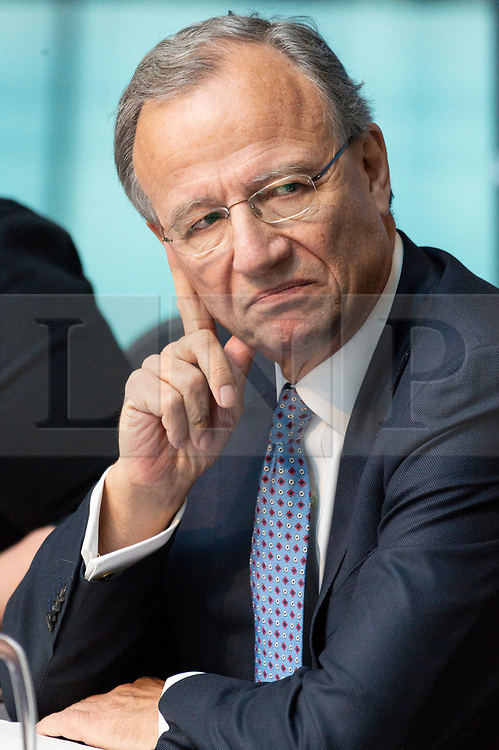 © Licensed to London News Pictures. 09/01/2019. London, UK. Tony Meggs, TfL and Department for Transport and Chair of Crossrail attends London Assembly meeting on the delay of the Crossrail project. The Transport Committee try also try to get to the bottom of the disparity between the former Chair's account and that of the London Mayor Sadiq Khan's account of the delay. Photo credit: Ray Tang/LNP
