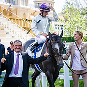 Neufbosc (C. Demuro) wins Prix du Lys Gr. 3 in Paris Lonchamp, France, 27/05/2018, photo: Zuzanna Lupa