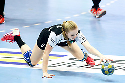 Janja Rebolj of RK Zagorje during handball match between RK Zagorje and RK Krim Mercator in Final game of Slovenian Women Handball Cup 2017/18, on April 1, 2018 in Park Kodeljevo, Ljubljana, Slovenia. Photo by Matic Klansek Velej / Sportida