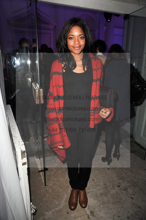 NAOMI HARRIS at a party to celebrate the Mulberry Autumn Winter 2010 collection held at The Orangery, Kensington Palace, London on 21st February 2010.