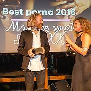 NLD/Amsterdam/20160601 - Uitreiking Porna Awards 2016, winnar en regisseur Best Sex movie