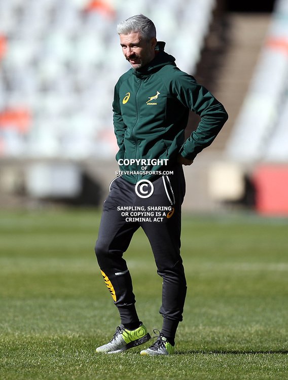 BLOEMFONTEIN, SOUTH AFRICA - JUNE 15: Aled Walters of South Africa during the  South Africa Captain's Run at Toyota Stadium on June 15, 2018 in Bloemfontein, South Africa. (Photo by Steve Haag/Getty Images)