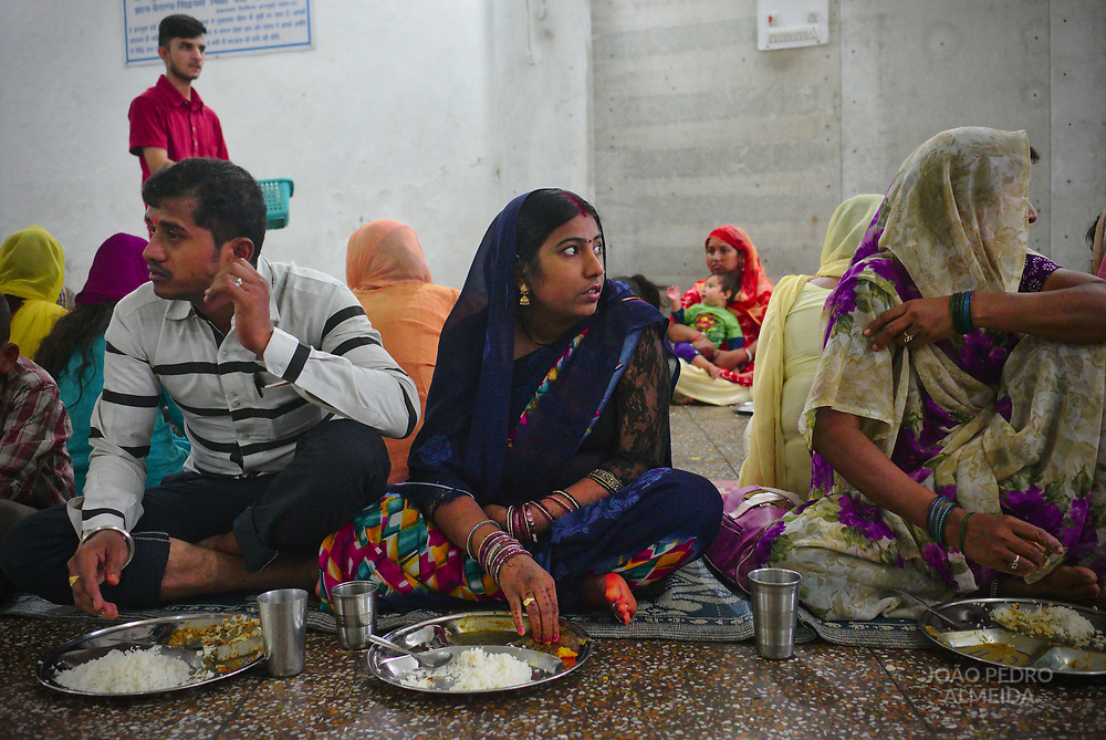 A smaller langar, the community kitchen of sikh temples, where meals are freely served to all visitors.