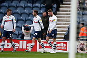 Goal celebration buy Alan Browne of Preston North End  during the EFL Sky Bet Championship match between Preston North End and Huddersfield Town at Deepdale, Preston, England on 9 November 2019.