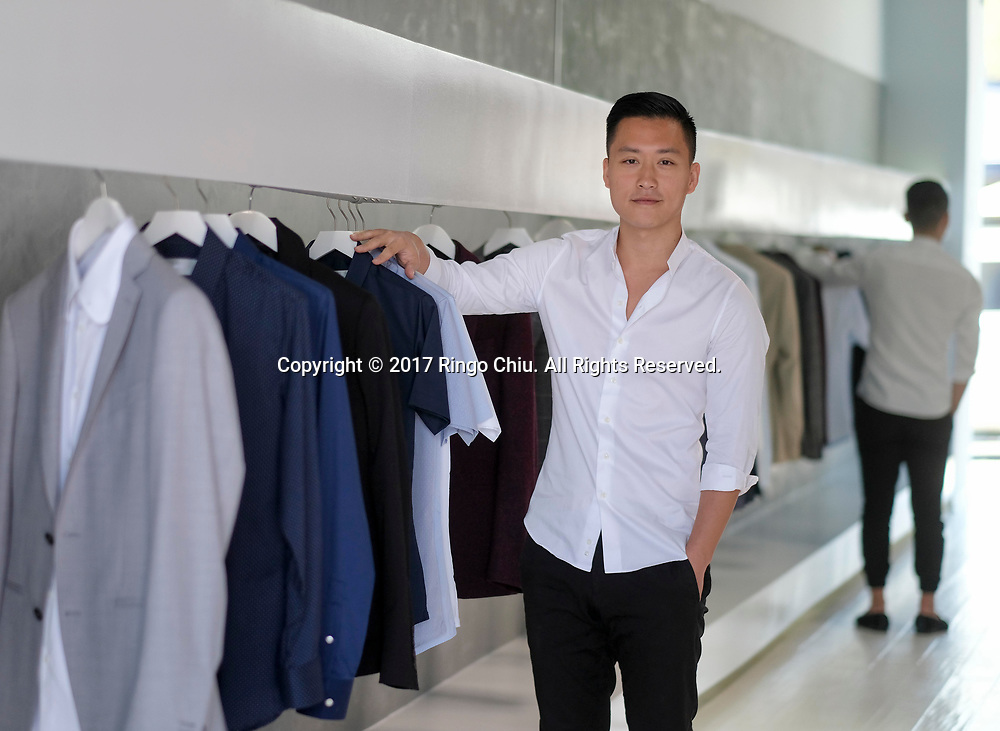 Ray Li, owner of Sene.(Photo by Ringo Chiu)<br /> <br /> Usage Notes: This content is intended for editorial use only. For other uses, additional clearances may be required.