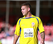 Accrington Stanley striker Billy Kee during the Sky Bet League 2 match between Crawley Town and Accrington Stanley at the Checkatrade.com Stadium, Crawley, England on 26 September 2015. Photo by Bennett Dean.