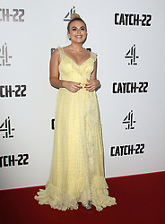 May 15, 2019 - London, United Kingdom - Tallia Storm attends the Catch 22 - TV Series premiere at the Vue Westfield, Westfield Shopping Centre, Shepherds Bush (Credit Image: © Keith Mayhew/SOPA Images via ZUMA Wire)