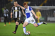 Bristol Rovers forward Rory Gaffney (30) during the The FA Cup match between Notts County and Bristol Rovers at Meadow Lane, Nottingham, England on 3 November 2017. Photo by Jon Hobley.