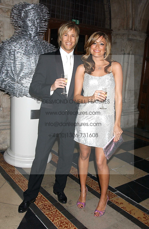 RICK PARFIT JNR and REBECCA LOOS at Andy & Patti Wong's annual Chinese New Year party, this year celebrating the year of the dog held at The Royal Courts of Justice, The Strand, London WC2 on 28th January 2006.<br /><br />NON EXCLUSIVE - WORLD RIGHTS