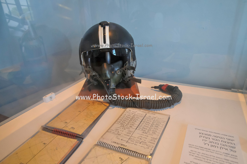 Madatech, Israeli National Museum of Science Technology and Space, Haifa, Israel. Ilan Ramon's logbook