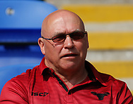John Kear (Coach) of Bradford Bulls during the Ladbrokes Challenge Cup match at the Halliwell Jones Stadium, Warrington<br /> Picture by Stephen Gaunt/Focus Images Ltd +447904 833202<br /> 21/04/2018