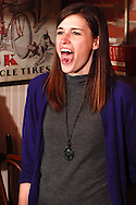 "An audience member performs a 'human trick' during Mayhem & Mystery's production of ""Deadly Dancing"" at the Spaghetti Warehouse in downtown Dayton, Monday, January 7, 2013."