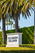 Fashion Island Monument