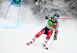 Trevor Philp of Canada competes during 1st run of Men's GiantSlalom race of FIS Alpine Ski World Cup 57th Vitranc Cup 2018, on March 3, 2018 in Kranjska Gora, Slovenia. Photo by Ziga Zupan / Sportida