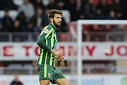 George Francomb of AFC Wimbledon during Sky Bet League 2 match between Leyton Orient and AFC Wimbledon at the Matchroom Stadium, London, England on 28 November 2015. Photo by Stuart Butcher.