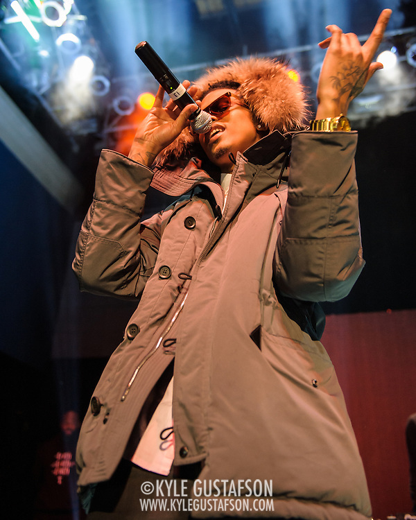 WASHINGTON, DC - March 24, 2014 - August Alsina opens for 2 Chainz at the 9:30 Club in Washington, D.C. (Photo by Kyle Gustafson / www.kylegutafson.com)