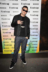 Rapper FUGATIVE at a party to celebrate the Firetrap Watches and Kate Moross Collaboration Launch, held at Firetrap, 21 Earlham Street, London, UK on 13th October 2010.
