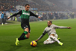 "Foto Filippo Rubin<br /> 10/02/2019 Reggio Emilia (Italia)<br /> Sport Calcio<br /> Sassuolo - Juventus - Campionato di calcio Serie A 2018/2019 - Stadio ""Mapei Stadium""<br /> Nella foto: MARTIN CACERES (JUVENTUS)<br /> <br /> Photo Filippo Rubin<br /> February 10, 2019 Reggio Emilia (Italy)<br /> Sport Soccer<br /> Sassuolo vs Juventus - Italian Football Championship League A 2018/2019 - ""Mapei Stadium"" Stadium <br /> In the pic: MARTIN CACERES (JUVENTUS)"