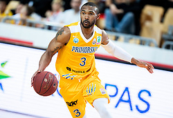 Lance Harris of Sixt Primorska during basketball match between KK Sixt Primorska and KK Hopsi Polzela in final of Spar Cup 2018/19, on February 17, 2019 in Arena Bonifika, Koper / Capodistria, Slovenia. Photo by Vid Ponikvar / Sportida