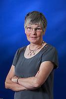 Dorothy H Crawford is a Edinburgh-based microbiologist. Edinburgh International Book Festival 2013 portrait of Dorothy H Crawford at Charlotte Square Garden. <br /> <br /> Pic by Pako Mera