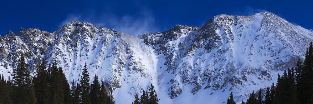 Mayflower Gulch, Colorado Rocky Mountains in Winter