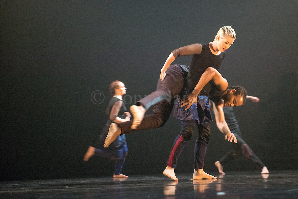 In preparation for their imminent careers as professional dance artists, final year students have experienced intensive periods of creative exploration and rehearsal with leading choreographers Simonetta Alessandri, Bernadette Iglich, Kerry Nicholls and Simon Vincenzi. Picture shows 'Crowded Loops' choregraphed by Simoneta Alessandri.