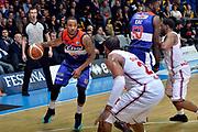 DESCRIZIONE : Final Eight Coppa Italia 2015 Desio Semifinale Olimpia EA7 Emporio Armani Milano - Enel Brindisi<br /> GIOCATORE : Marcus Denmon<br /> CATEGORIA : palleggio blocco<br /> SQUADRA : Enel Brindisi<br /> EVENTO : Final Eight Coppa Italia 2015 <br /> GARA : Olimpia EA7 Emporio Armani Milano - Enel Brindisi<br /> DATA : 21/02/2015<br /> SPORT : Pallacanestro <br /> AUTORE : Agenzia Ciamillo-Castoria/Max.Ceretti