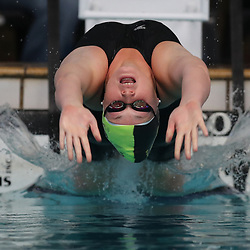 PIETERMARITZBURG, SOUTH AFRICA - AUGUST 10:  Jamie H Reynolds 100m Women SC Backstroke during day 1 of the 2017 SA Short Course National Championships at GC Joliffe Pool on August 10, 2017 in Pietermaritzburg, South Africa. (Photo by Steve Haag/Gallo Images)