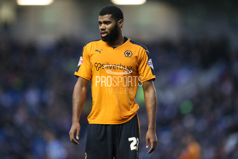 Wolverhampton Wanderers defender Ethan Ebanks-Landell (23) during the Sky Bet Championship match between Brighton and Hove Albion and Wolverhampton Wanderers at the American Express Community Stadium, Brighton and Hove, England on 1 January 2016.