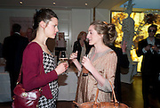 EBBA HEUMAN; VIOLET NAYLOR-LEYLAND, Book launch party for the paperback of Nicky Haslam's book 'Sheer Opulence', at The Westbury Hotel. London. 21 April 2010