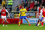 Leeds United forward Tyler Roberts (11) in action  during the EFL Sky Bet Championship match between Rotherham United and Leeds United at the AESSEAL New York Stadium, Rotherham, England on 26 January 2019.