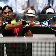 Roma 18/05/2018 Foro Italico <br /> Internazionali BNL d'Italia 2018<br /> singolare maschile <br /> Fabio Fognini nell'incontro con Rafael Nadal