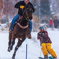 Teton Valley Great Snow Fest Skijoring 2016