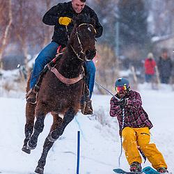Teton Valley Great Snow Fest Skijoring 2016