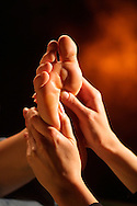 Foot massage <br />