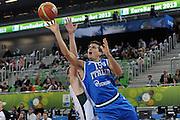 LUBIANA EUROBASKET 2013 19 SETTEMBRE 2013<br /> NAZIONALE ITALIANA MASCHILE<br /> LITUANIA VS ITALIA<br /> NELLA FOTO: ANDREA CINCIARINI<br /> FOTO CIAMILLO