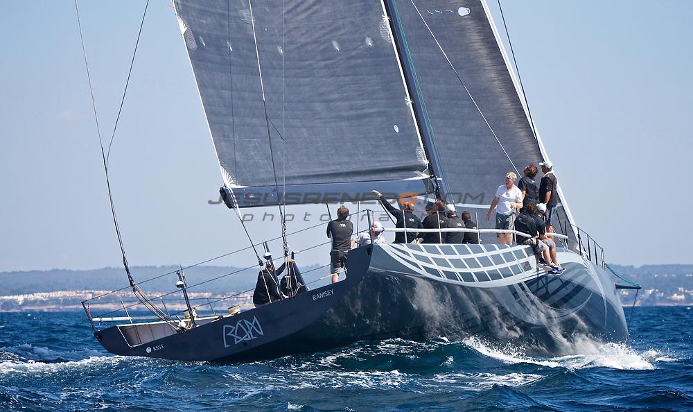 Judel/Vrolijk 72, Ran V , first sail trials in Mallorca,Spain.© Jesús Renedo