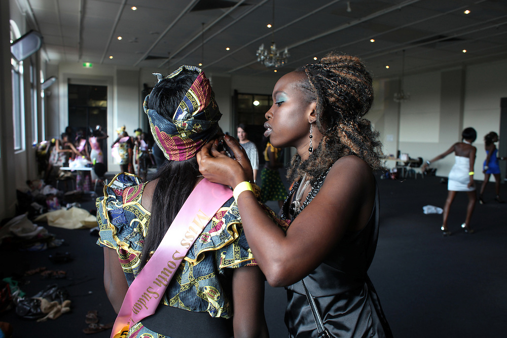 Miss South Sudan Australia Beauty Pageant, 2010.