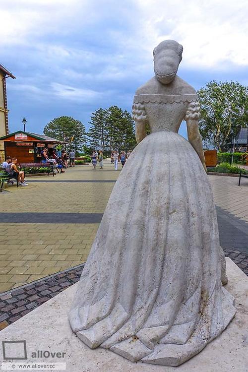 Erzsebet Kiralyne, 1837-1898, Keszthely, Balaton, Hungary, Western Hungary, lake Balaton