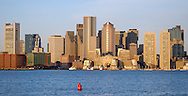 Boston, Downtown, Panorama, Waterfront, Boston Harbor
