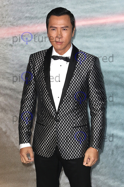 Donnie Yen, Rogue One: A Star Wars Story, Tate Modern, London UK, 13 December 2016, Photo by Richard Goldschmidt
