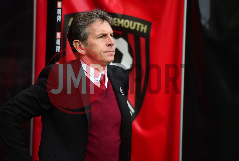 Southampton manager Claude Puel - Mandatory by-line: Alex James/JMP - 18/12/2016 - FOOTBALL - Vitality Stadium - Bournemouth, England - Bournemouth v Southampton - Premier League