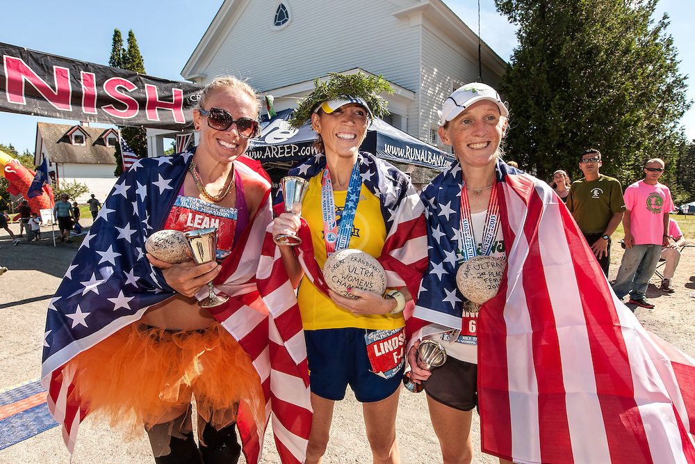 Great Cranberry Island Ultra 50K road race: to three women finishers