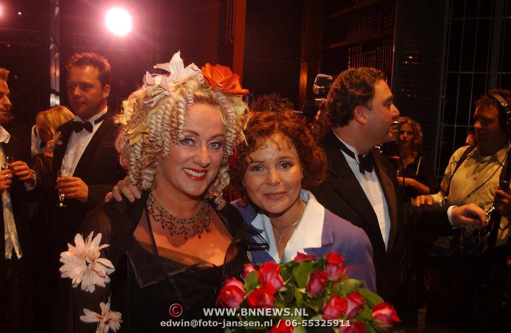 Premiere Sound of Music, Maaike Widdershoven en Karin Bloemen