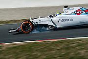 February 19-22, 2015: Formula 1 Pre-season testing Barcelona : Felipe Massa (BRA), Williams Martini Racing