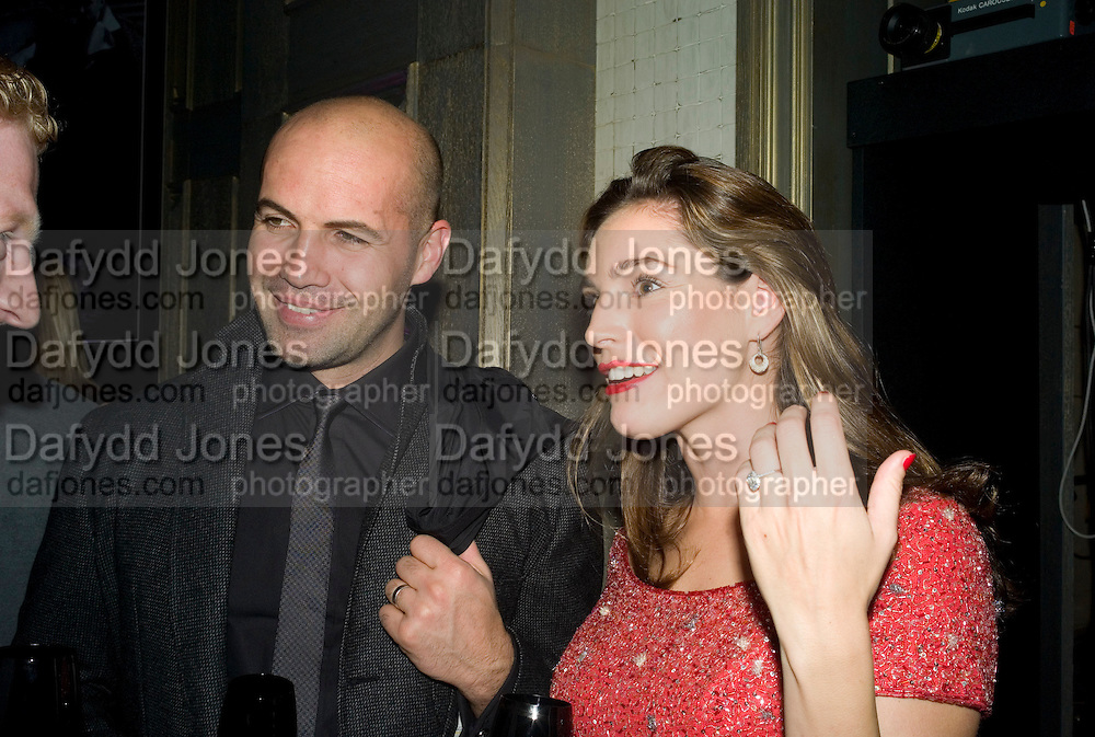 Kelly Brook and Billy Zane, Dom Perignon and Claudia Schiffer host a celebration of Dom Perignon Oenotheque 1995. The Landau, Portland Place. London W1. 26 February 2008.  *** Local Caption *** -DO NOT ARCHIVE-© Copyright Photograph by Dafydd Jones. 248 Clapham Rd. London SW9 0PZ. Tel 0207 820 0771. www.dafjones.com.