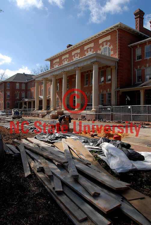 Construction renovation wraps up on the 1911 Building .