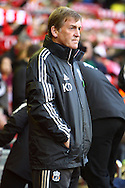 Picture by Paul Chesterton/Focus Images Ltd.  07904 640267.22/10/11.Liverpool Manager Kenny Dalglish before the Barclays Premier League match at Anfield, Liverpool