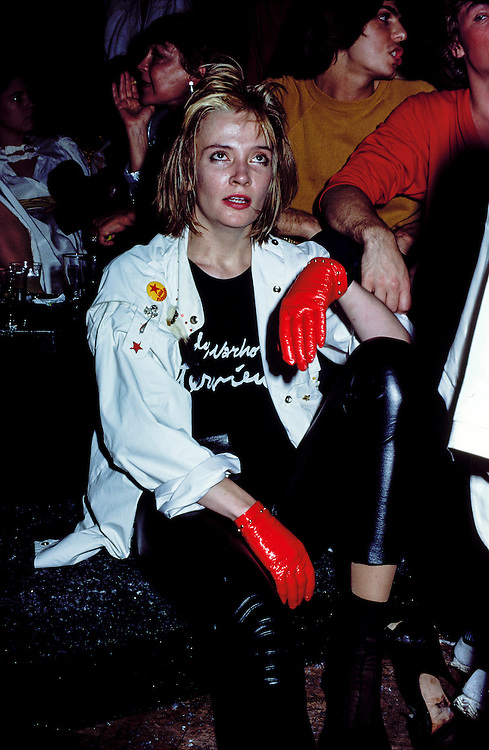 Party goers at Studio 54, New York, NY
